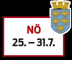 Niederösterreich 25. - 31.7.