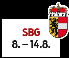 Salzburg 8. - 14.8.