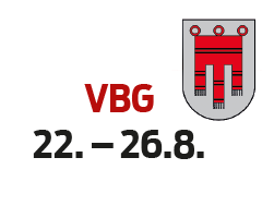 Vorarlberg 22. - 26.8.